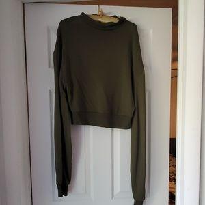Indah Miller Mock Neck Sweatshirt | Size 3/L